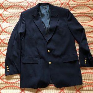 Brooks Brothers Navy Blue 2 Button Blazer Sport